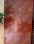 红色花建筑模板